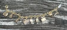 Dolce And Gabbana Perfume Charm Bracelet Gold Used