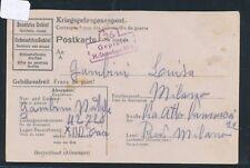 19702) Kriegsgefangenenpost Kte Stalag XII D Trier Petriberg 11.12.43 > Italien