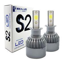 2x S2 H3 LED Bulb Fog Light Conversion Kit 36W High Power 6000K Bright White