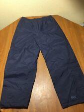 Helly Hanson Outdoor Shell Pants Lightweight/Waterproof Helly Tech Size S Unisex
