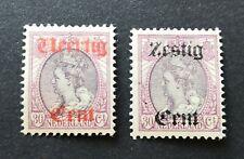 Nederland 1919 hulpuitgifte NVPH 102-103 ongebruikt MH // VANAF 1 EURO!!