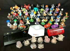 60 Disney Pixar Infinity Game Figures 3 Crystals 2 Discs Lot 3.0 Exclusives