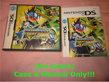 ~ (No Game) Case & Manual Only ~ Megaman Star Force Dragon . Nintendo DS