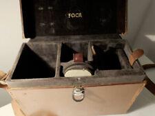 """OPL FOCA Leather  Case  Mallette Foca """" Petit model """""""