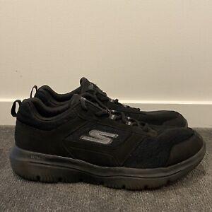 Womens Skechers Go Walk Ultra Go Shoes Black Casual Comfort Size US 11 EUR 43.5