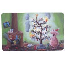 Rannenberg Frühstücksbrettchen brennender Weihnachtsbaum X-mas