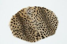 Animal skin Quality round circle Rug Size 24 inches