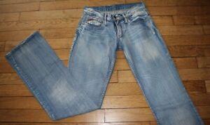 MC LEM Jeans pour Femme W 22 - L 34 Taille Fr 32 DIAM'S (Réf #O090)