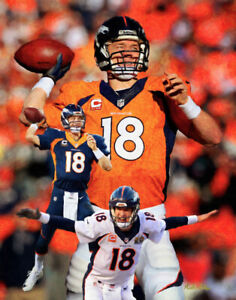 Peyton Manning Denver Broncos NFL Football QB Quarterback Art 3 CHOICES