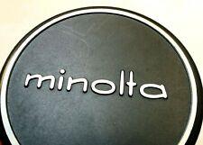 52mm MINOLTA Metal Front Lens Cap for Manual Focus SRT Rokkor slip on 54mm ID