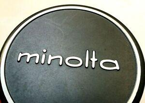 52mm MINOLTA Metal Tapa Lente Frontal Para Manual Focus SRT Rokkor Sin En 54mm