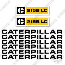 Caterpillar 215B LC Loader Decal Kit Equipment Decals 1970's