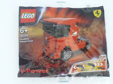 Sealed ! SHELL LEGO V-Power 30191 Scuderia Ferrari Truck