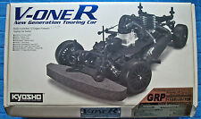 Vintage Kyosho V-one R Touring Car RC kit, #31101W, for .12 nitro, new, unbuilt!