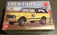 AMT 1972 Chevy Blazer Crew Chief 1/25 model car truck kit new 897