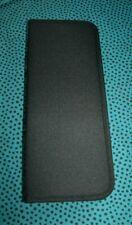 LUKAS schwarze Pinseltasche aus Kunstfaser 15,5x37,1 cm für 12 Pinsel Pinseletui