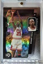 Rare Sample: 1998 UPPER DECK UD3 Michael Jordan #233 AIRWAVES REFRACTOR LIKE