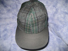CAP Tartan wool blend adjustable - NEW !