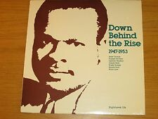 "SEALED MONO BLUES LP - VARIOUS ARTISTS - NIGHTHAWK 106 - ""DOWN BEHIND THE RISE"""