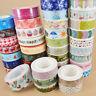 Sticky Washi Sticker Fashion Tape Christmas 1 pc Adhesive 1.5cm×10m DIY