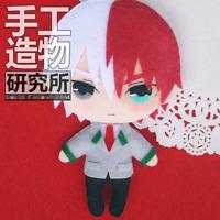 My Boku No Hero Academia Todoroki Shouto Doll DIY Material Toy Pendant Keychain