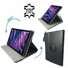 9 pulgadas de cuero Tablet PC Pontus Android 4,0 Table funda estuche - 360 ° bovino Echt Leder