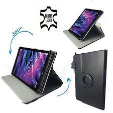 7 zoll Leder Tablet Tasche - blackberry playbook Hülle - 360° Rind Echtleder