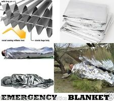 Emergency Survival Outdoor Waterproof Foil Thermal First Aid Rescue Blanket Tent