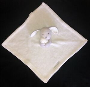 Blankets and Beyond White Gray Dog Puppy Baby Security Blanket Lovey