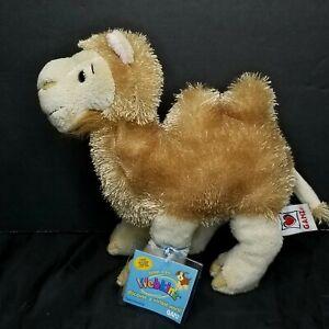 "Ganz Webkinz Camel Plush Stuffed Animal Brown 2 hump Soft 9"" Sealed Code"