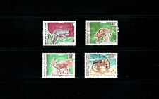 Ivory Coast -- animals -- compete set used from 1992