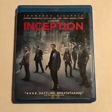 Inception Blu-ray Like New No Digital Dicaprio/Nolan/Hardy