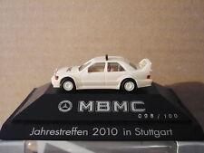 Mercedes 190E EVO II Renntaxi MBMC Jahrestreffen 2010 Herpa Sondermodell 1:87