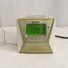 Sony Dream Machine FM/AM Clock Radio ICF-C143 Liv TESTED