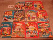 E28 LOT 11 VINTAGE ARCHIE'S COMICS DIGEST MAGAZINE