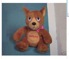 Sweetie Teddy Dog Plush Stuffed Toy Terrier Golden Retriever Chihuahua
