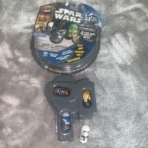Disney 4 Star Wars Mighty Beanz Snow Trooper Han Solo Cad Bane Jango Fett Set