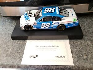 Chase Briscoe #98 Highpoint Autographed 2020 Mustang 1:24