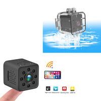 Mini Caméra Surveillance Capteur Mouvement Étanche Vision Nocturne 1080P Wi-Fi