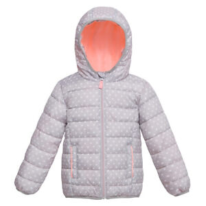 Rokka&Rolla Baby Girl's Puffer Jacket Winter Coat for Toddler Kids 18-24M, 2T-4T