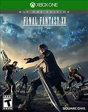 Final Fantasy XV: Day One Edition (Microsoft Xbox One, 2016)