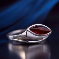 Bernstein Silber 925 Ring 18 mm  R404