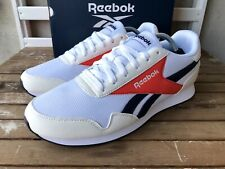Reebok Royal Classic Jogger 3 Mens Retro Trainers White Red Blue NEW Sneakers