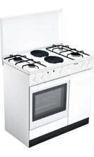 Bompani Cucina a Gas 4 Fuochi 2 Piastre Forno Elettrico Grill 90x60 cm BI940EB/L