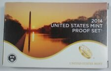 2014 US Full Proof Set Mint Issued 14 Gem Coins Total In Original Govt Packaging