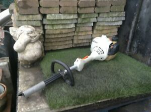 STIHL KOMBI FS55 Petrol Combi unit powers Hedge Trimmer Chainsaw attachment
