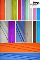 Plain Cotton Fabric 100% Cotton, Dressmaking Craft Fabric Material, High Quality