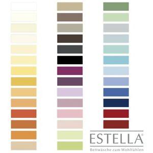 Estella Zwirn Jersey Spannbetttuch Spannbettlaken 6900 Farbe sand 180