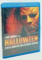 Halloween (Blu-ray Disc, 2008; 2-Disc Set, Unrated Collector's Ed.) NEW