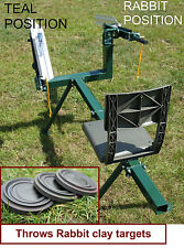 200 CLAY TARGETS,DOUBLE ARM FULL COCK MANUAL CLAY PIGEON TRAP,CLAY TRAP DT500